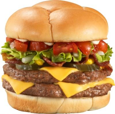 Big juicy burger. Courtesy of recipeshubs.com