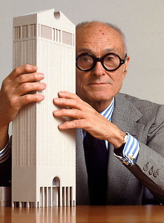 Philip Johnson. Courtesy of Britannica