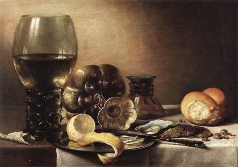 Pieter Claesz Breakfast Still Life