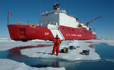 Arctic ocean exploration. Courtesy of NOAA