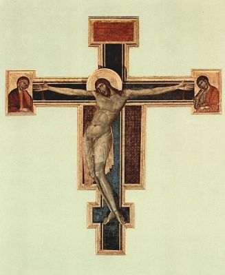 Cimabue Crucifixion before the flood