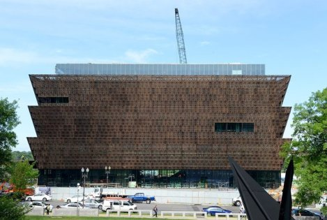 National Museum of African American Art and History, designed by David Adjaye. Courtesy of Archinet