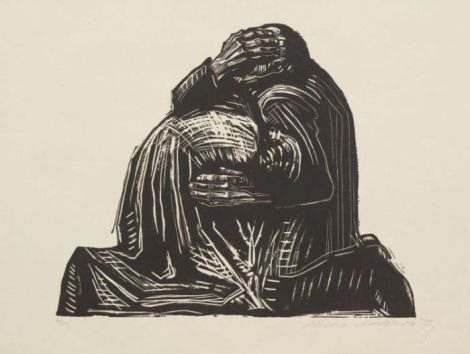 The parents from war by Kathe Kollwitz