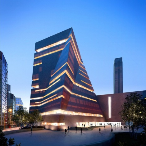 Tate Modern expansion by Hayes Davison and Herzog and Demeuron, London