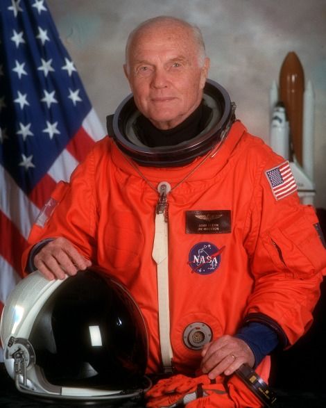 Astronaut John Glenn Courtesy of NASA
