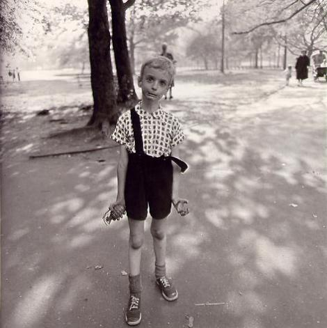 Diane Arbus's signed print of Child with a Hand Grenade sold at auction for more than $700,000 last year.
