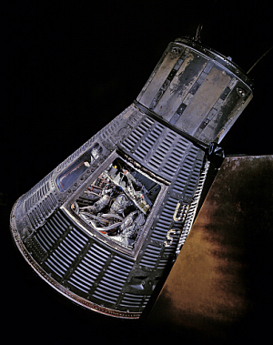 Liberty Friendship 7 John Glenn's space capsule. Courtesy National Air & Space Museum