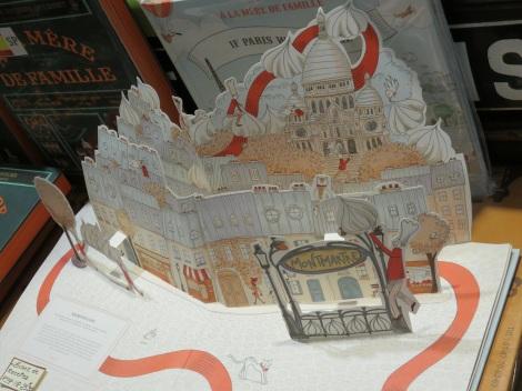 Paper pop-up of Paris's famed Montmartre (Roberta Faul-Zeitler CC 3.0)