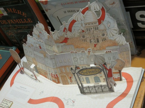 Paper pop-up of Paris's famed Montmartre (Roberta Faul-Zeitler CC 3.0)
