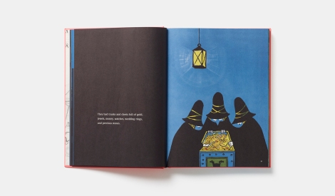 Illustration from Tomi Ungerer's Treasury of Eight Books