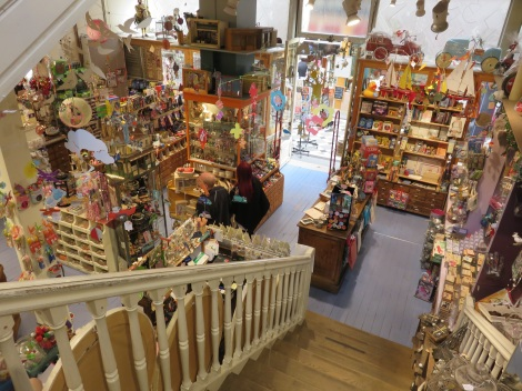 One of the best toystores in Paris -- or anywhere-- in the Passage Jouffroy in Paris (Roberta Faul-Zeitler, CC 3.0)