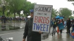 Signs at the DC March for Science were pointed and humorous -- carried by kids, families, scientists.