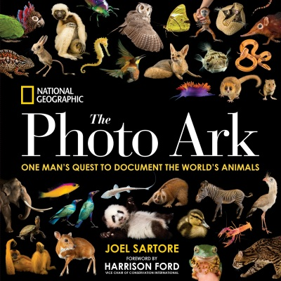 Sartore's newest book The Photo Ark (2017)