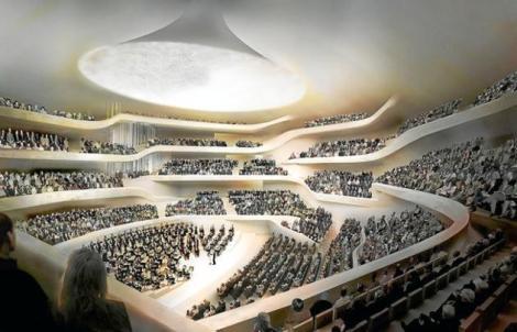 Philharmonie concert hall. Courtesy of dfa.