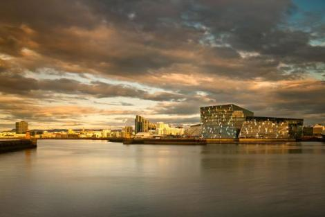Harpa concert hall and conference center. Photo courtesy of Nic Lehoux, Wikicommons