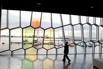 Olafur Eliasson glass work