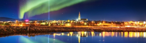 Northern Lights Reykjavik. Courtesy of Travel Zoo