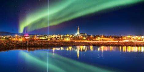Northern Lights Reykjavik. Courtesy of Travel Zoo
