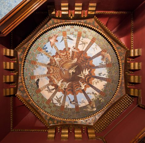 Elaborate decoration at Casa Vicens by Antonio Gaudi, courtesy of Dezeen
