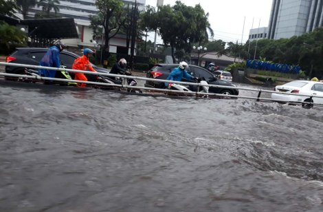 Flooding in Jakarta (2012). Courtesy of Jakarta Post