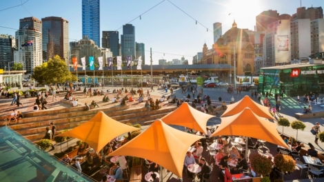 Melbourne Australia. Photo courtesy of Tourism Australia.