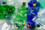 Crushed-Plastic-Bottles. Courtesy of earth 911