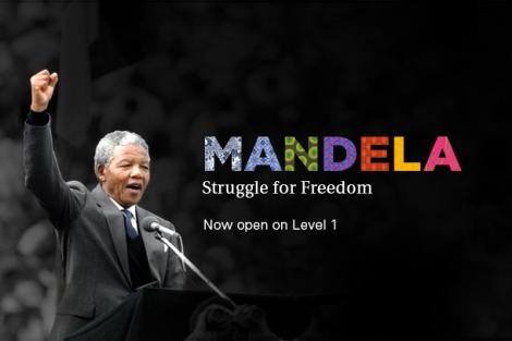 Mandela exhibition at CMHR