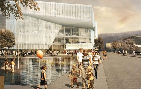 The new Deichman Library by Atelier Oslo and Lund Hagem Arkitekter