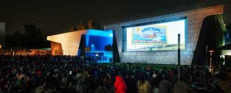 Outdoor film screenings at Cineteca