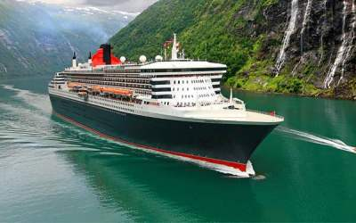 Cunard's Queen Mary 2. Courtesy of Cunard.