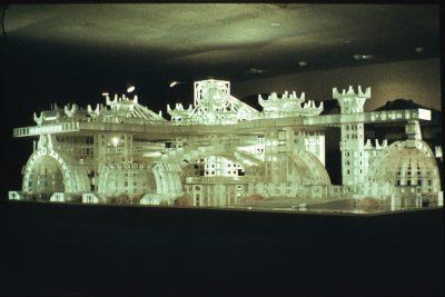 Model of Arcosanti