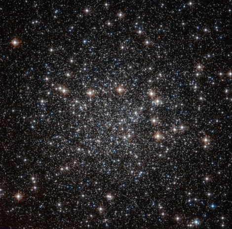 A Hubble sky full of stars. Courtesy NASA