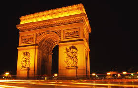 Arc de Triomphe. Courtesy Paris Tourist Office