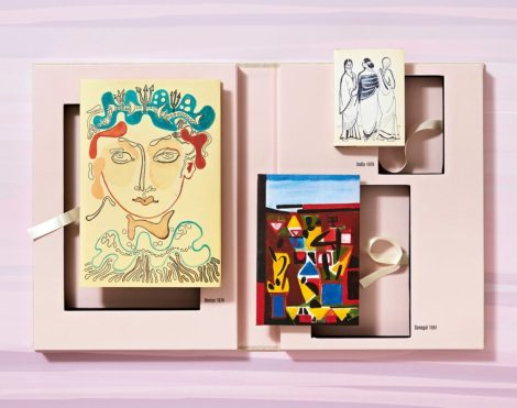 Images from Francoise Gilot's sketchbooks. Courtesy of Tachen