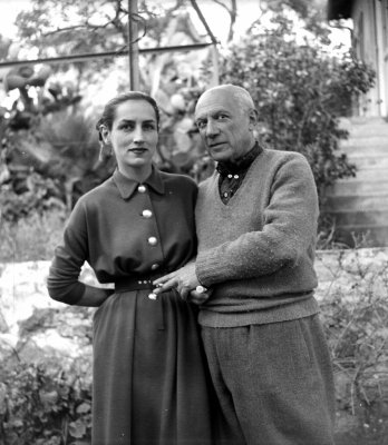 Gilot and Picasso. Credit: Lipnitzki Roger Viollet, via Getty Images