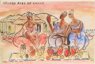 Village Pres de Dakar. Courtesy of Taschen Books and the artist.