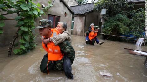 Flooding in Nanjing 2016. Courtesy of CNN