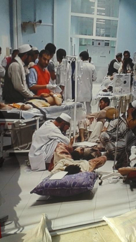 Surgical facility operated by MSF.