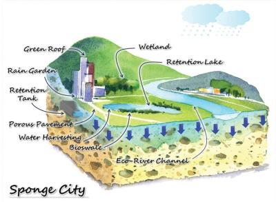 Concept of sponge city -- a plentiful toolkit