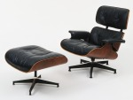 Eames lounge chair and ottoman (1956). Courtesy of Moma.
