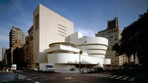 Guggenheim Museum exterior. Courtesy of Wikimedia commons.
