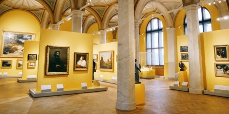 Colorful galleries and natural light are features in the newly renovated museum galleries. Courtesy of visitstockholm.com