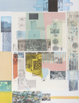 Robert Rauschenberg's Rush 20 is part of the collection. Courtesy of Museum Macan