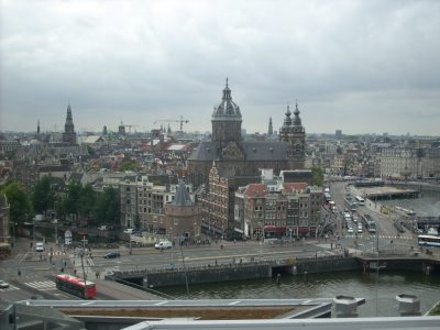 Amsterdam cityscape (Roberta Faul-Zeitler CC:3.0)