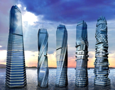 Dynamic Tower scheduled to be built in 2020 is powered with green energy