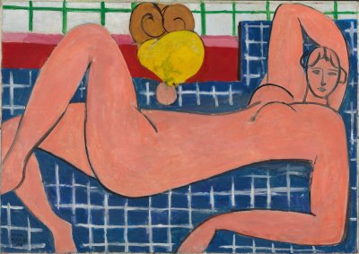 "Henri Matisse ""Large Reclining Nude"" . Courtesy of Artist Rights Society and the Baltimore Museum of Art."