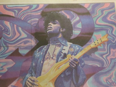 Prince mural at Minneapolis