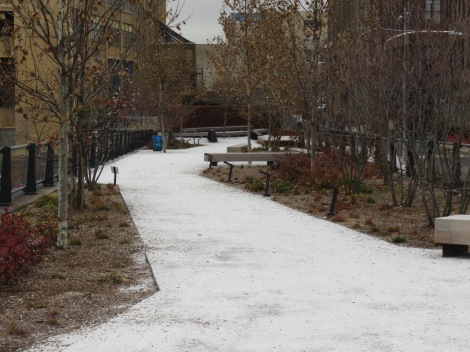 Section of the Rail Park in winter (Roberta Faul-Zeitler, CC:3.0)