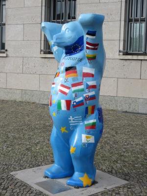German bear in Berlin